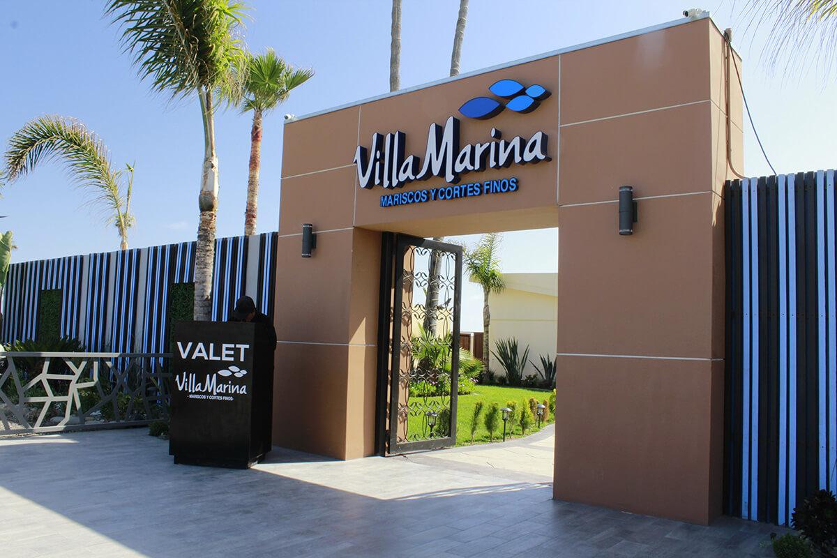 Villa Marina Ensenada Entrada